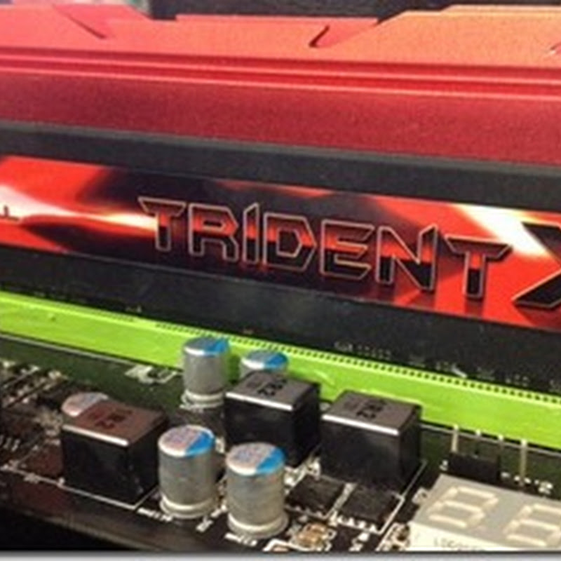 Are you looking to get some fast RAM for the new platform? Check out the new GSkill TridentX!