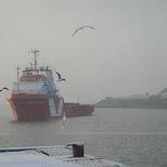haven van IJmuiden in Oud-IJmuiden, Noord Holland, Netherlands