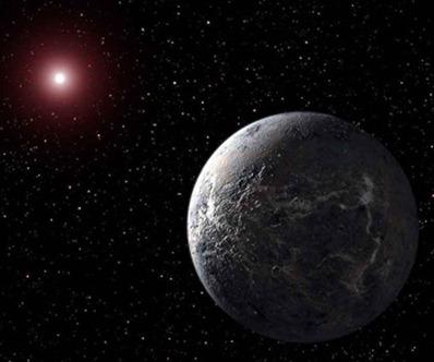 exoplaneta orbitando perto de estrela