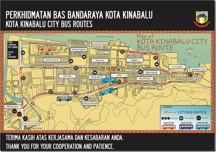 City Bus Route B