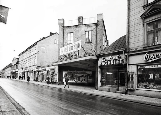 svartbäcksgatan och kvarteret S:t Per 1965-66