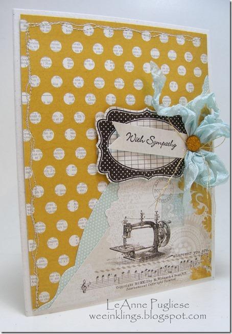LeAnne Pugliese MME Sympathy Card Wee Inklings