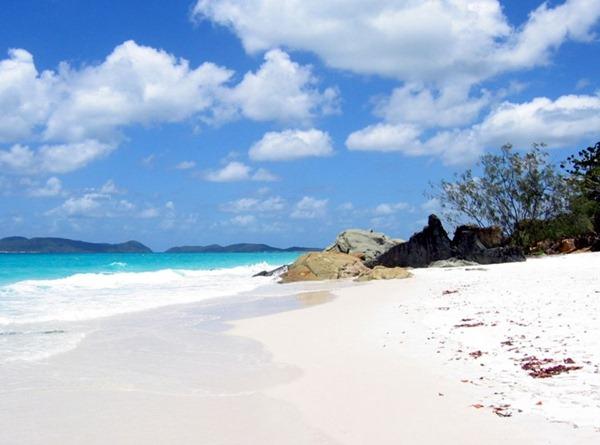 البيضاء Whitehaven-Beach-Whi