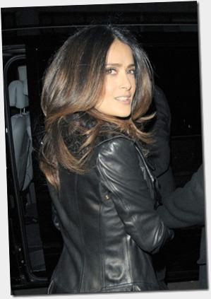 Salma Hayek Salma Hayek Out London Fashion EGYPirw7o0Rl