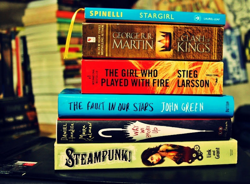 Book Awards on Twilight and/or Stargirl?