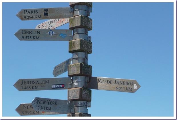 África-do-Sul-Cape-Town-Cape-Point-Distância-Direções-Cidades-MUndo