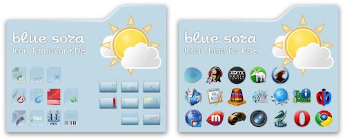 Blue Sora - KDE