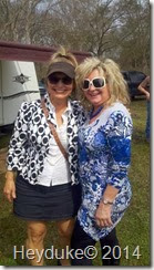 sharon and roxie at rabbit fest