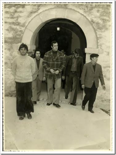 Saida do forte de peniche 1974