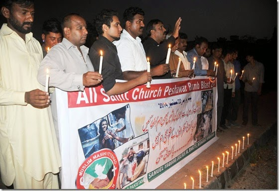 Remembering Islamic Terrorism in Pakistan Church