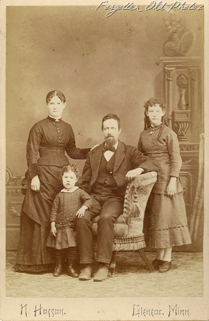 Josiah Reese Family 1886