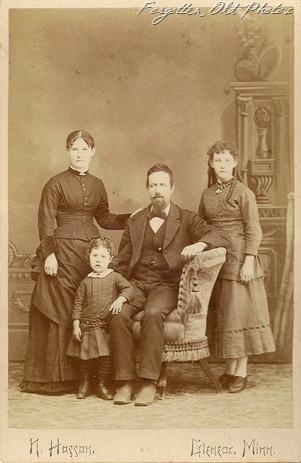 Josiah Reese Family 1886