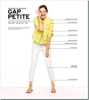 gap petite