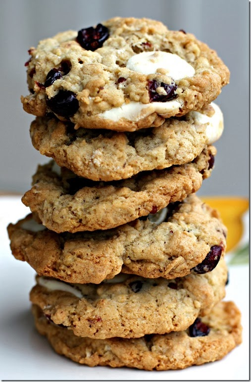 Cranberry White Chocolate Cookies2