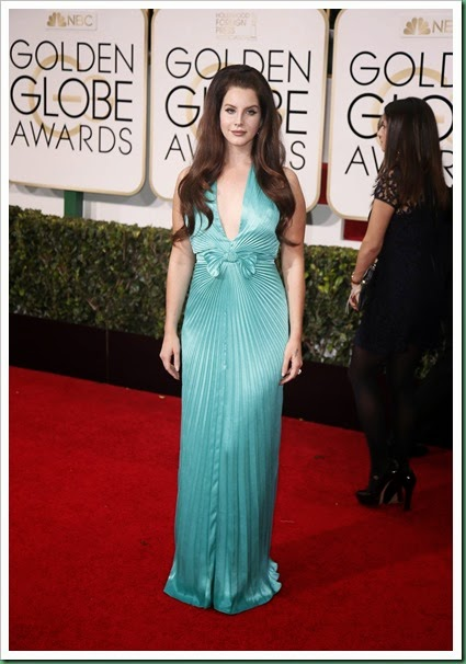 Lana Del rey at Golden Globes