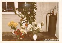 Veel bloemen fleurden het vernieuwde bedrijf extra op
