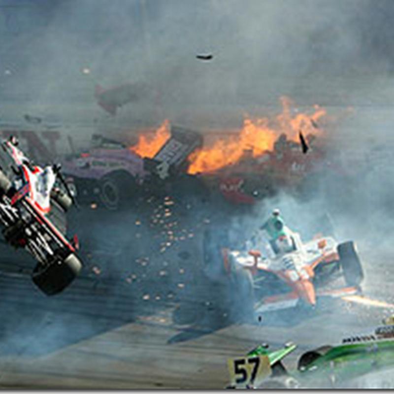 (Video) Pemandu IndyCar maut ketika berlumba