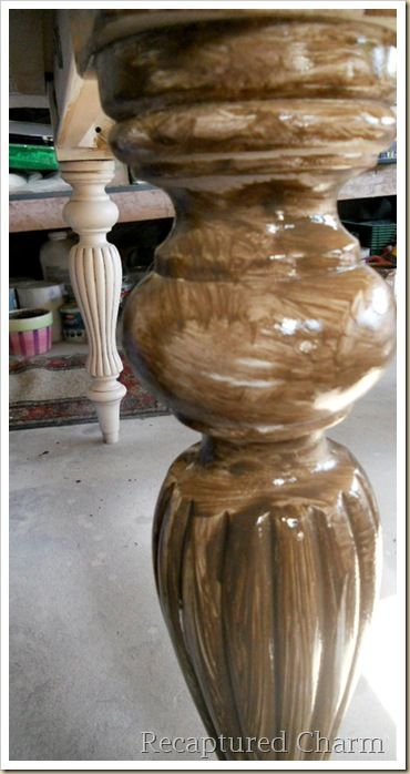 solid wood table 028a