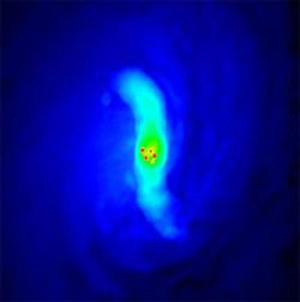 galáxia NGC 2110