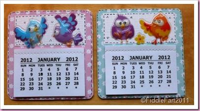 simple calendars 005