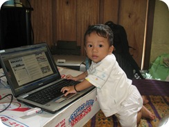 Violino Ridho Putra Main Laptop
