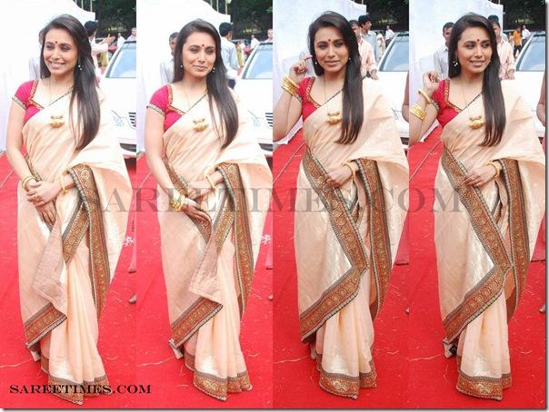 Rani_Mukherjee_Gold_Designer_Saree