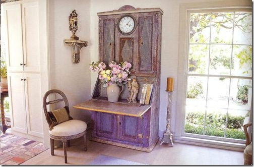 jane moore blue secretary via indulge decor blog