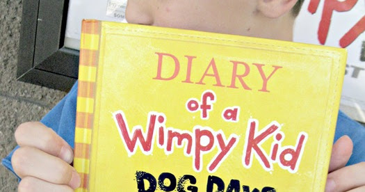 ginger snap crafts diary of a wimpy kid dog days book
