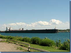 7746 Ontario  - Sault Ste Marie - American Integrity self unloading bulk carrier