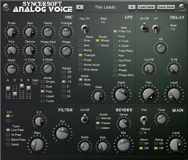 analog voice vsti