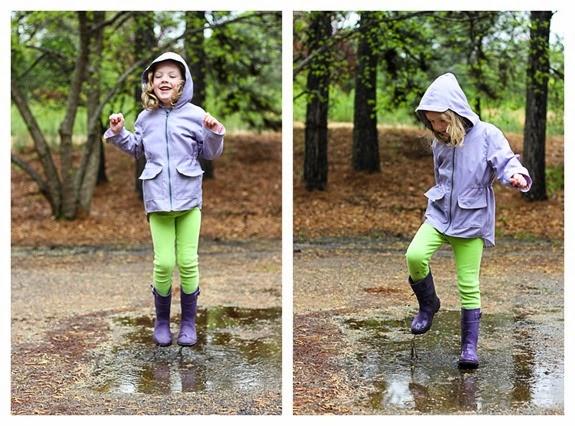 Spring Showers Jacket jump