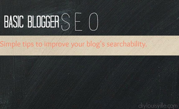 Basic Blogger SEO Tips
