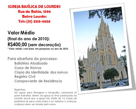 GUIA - CATOLICA - IGREJA BASILICA DE LOURDES
