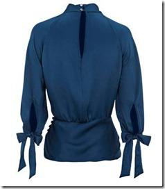 knot neck blouse3