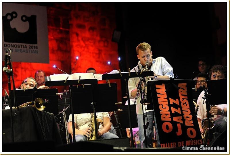 Original Jazz Orchestra amb Roger Martínez, Donostia 2013