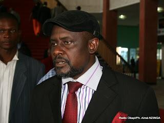 Frank Ndjongo, Député National au Palais du Peuple Kinshasa/RDC, le 17/02/2012. Radio Okapi/Ph. Aimé-NZINGA