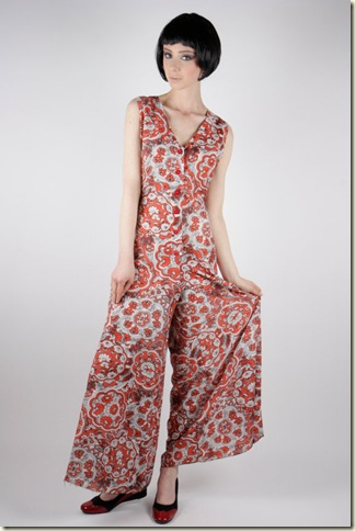 bell bottom 70s jumpsuit