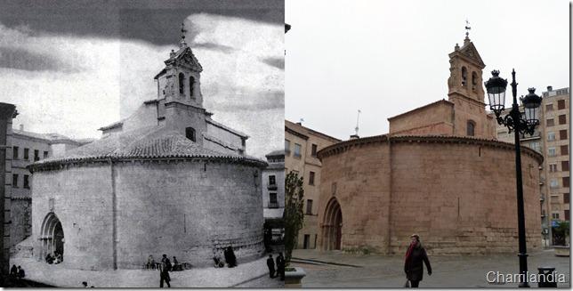 Comparativa 2 iglesia de San Marcos Salamanca Guzman Gombau