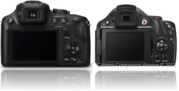 Panasonic Lumix FZ70 vs Canon PowerShot SX40 HS
