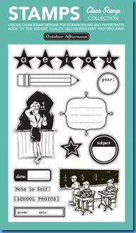 Report Card 358 - ST Stamp set (4x6) v7