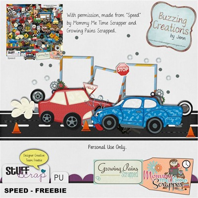 MMTS & GPS - Speed - Freebie Preview