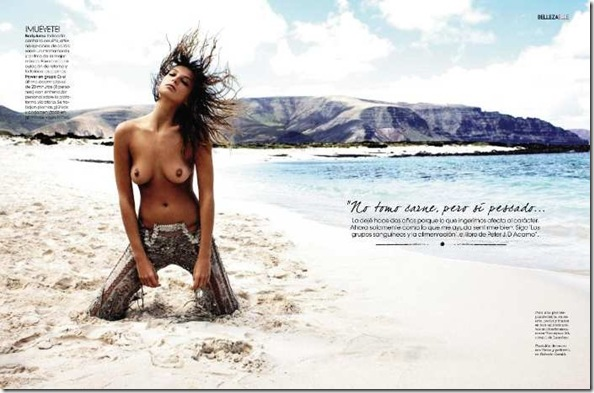 Elle Spain May 2011 Daria Werbowy3