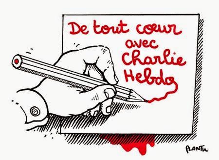 De tout coeur avec Charlie Hebdo