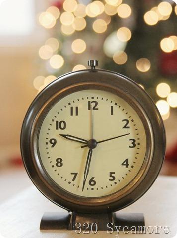 fav things clock from target