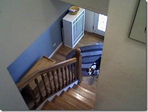 staircase before ernie