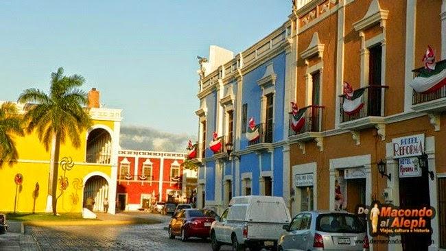 [México] Campeche: sus colores, su muralla