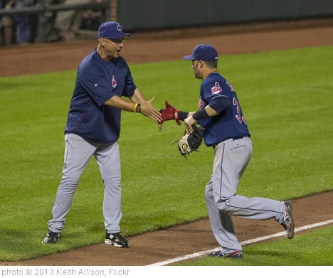 'Terry Francona, Nick Swisher' photo (c) 2013, Keith Allison - license: http://creativecommons.org/licenses/by-sa/2.0/