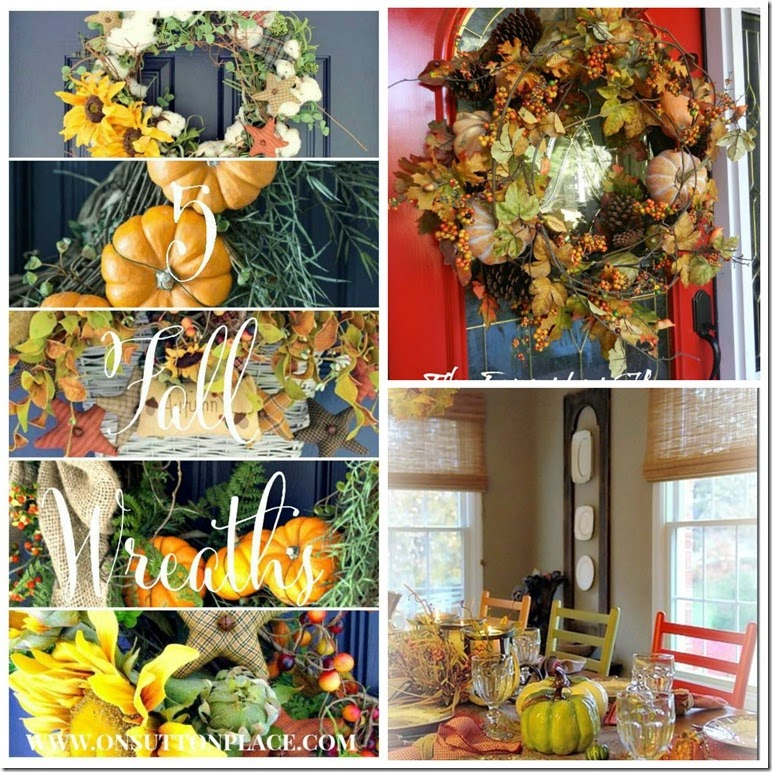 PicMonkey Collagefall wreaths