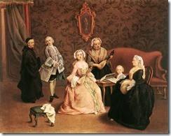 Concierto en familia-Pietro Longhi