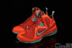 lebron9 allstar galaxy 53 web black Nike LeBron 9 All Star aka Galaxy Unreleased Sample
